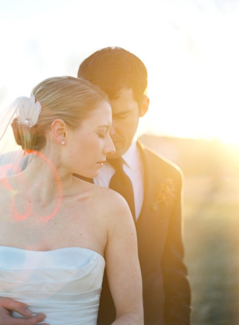 Beautiful Sunset Wedding Photos
